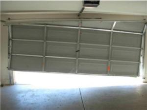 Shifted Garage Door Repair